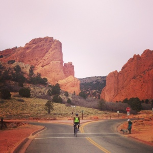 Gorgeous views in Garden of the Gods.